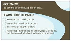 learn to park business cards bad driver learn how to park business cards by