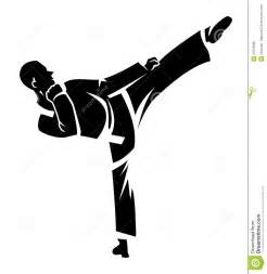 Karate Stock Vector - Image: 47878699 Abstract