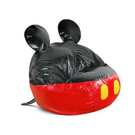 Mickey Mouse Bean Bag Chair Bean Bag Factory Junior Disney Mickey Mouse Bean Bag Chair