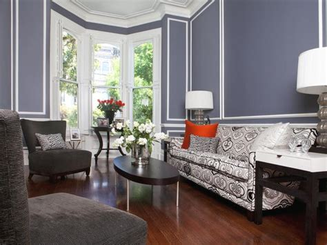 hgtv gray living rooms blue living room with patterns hgtv