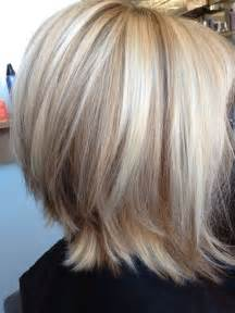 medium lentgh hair with highlights and low lights 35 blonde hair color ideas art and design