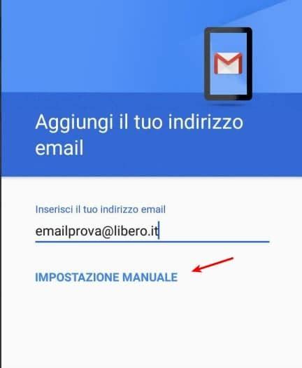 libero mail mobile libero configurare libero mobile mail su android