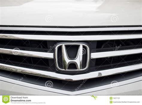 Honda Stock Symbol by Honda Symbol Editorial Photo Image 16271121