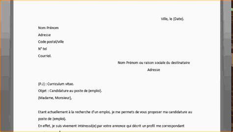 Exemple De Lettre De Motivation Pour Une R Ponse D Offre D Emploi comment on fait une lettre de motivation mod 232 le de lettre