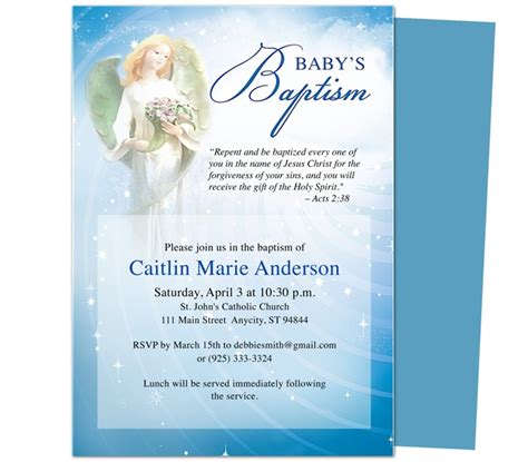 baby baptism christening invitations printable diy