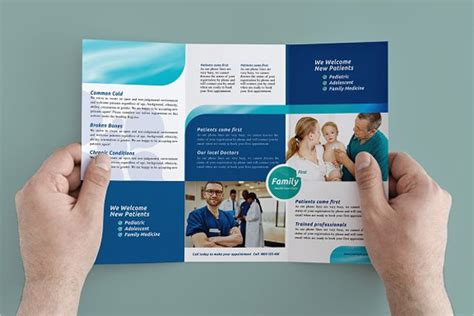 brochure templates healthcare 35 hospital brochure design templates free pdf sles