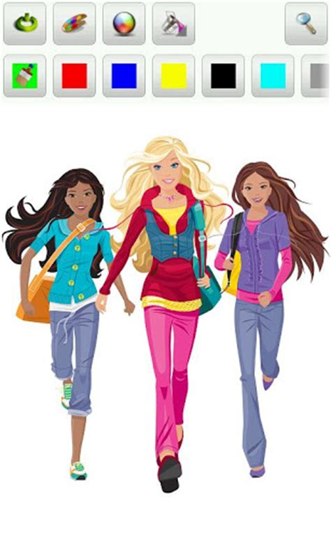 barbie coloring pages apk barbie coloring pages 1 00 game for android brothergames