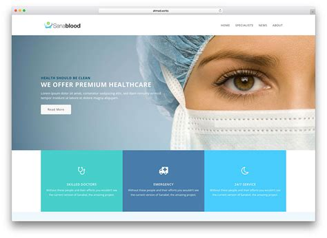 medical design magazine 20 best health and medical wordpress themes 2018 colorlib