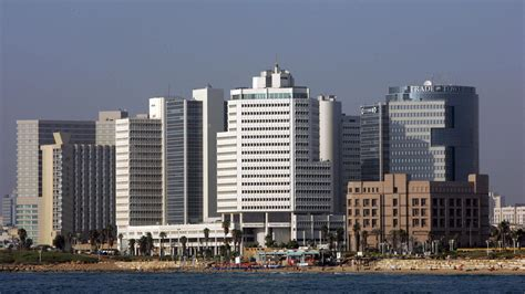 tel aviv future skyline in israel a push to get more arabs into management ncpr