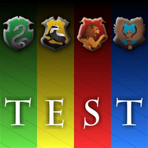 hogwarts house test hogwarts house sorting test by tbopi on deviantart