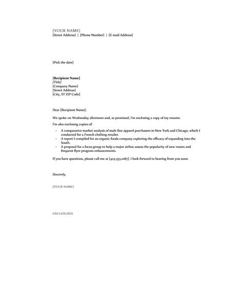 Email Cover Letter Enclosure Cover Letter Format With Enclosures College Abstract Help
