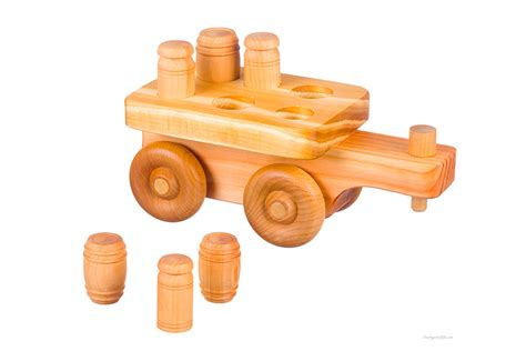 Puzzle Equipment Toys Toys 0yvc wooden farm tractor w puzzle cart countryside gifts