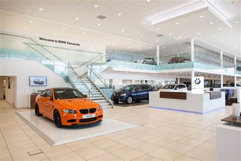 bmw showroom bmw showroom tamworth at architects leamington spa