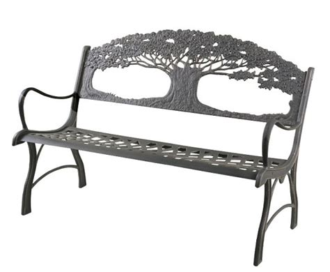 cast iron tree bench cast iron bench tree of life ebay