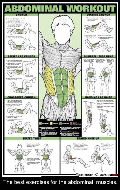 17 best ideas about workout posters on s ab workouts exercises