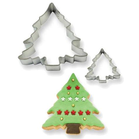 christmas tree cutter set of 2 the choc den