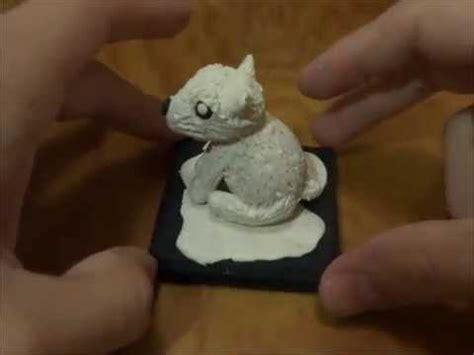 como aser un oso polar maqueta oso polar de plastilina youtube