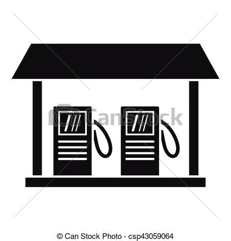 gas station clip art and stock illustrations 6900 gas gas station icon simple style gas station icon simple