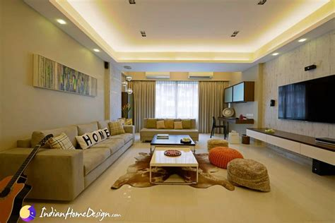 Interior Design Idea by Creative Living Room Interior Design Ideas By Purple