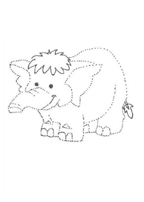 imagenes para colorear y puntear repasar dibujos para imprimir y colorear