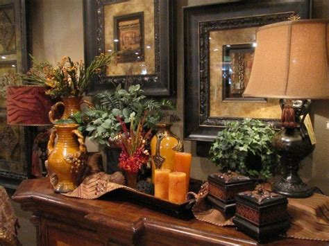 tuscan decorations for home 17 best ideas about hall table decor on pinterest