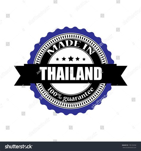 Kofferaufkleber Thailand by Made In Thailand Labels Badges Stickers And Symbols