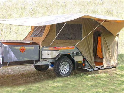hard awnings for trailers new kimberley kamper classic offroad cer trailers for sale