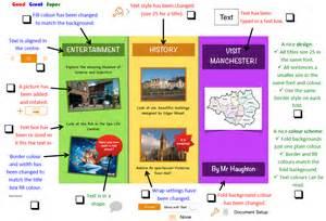 image gallery information leaflet examples ks2