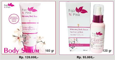 Fair N Pink Serum 160 Gr jual fair n pink serum promo termurah 100 original