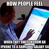 Image result for Iphone Vs Galaxy Meme
