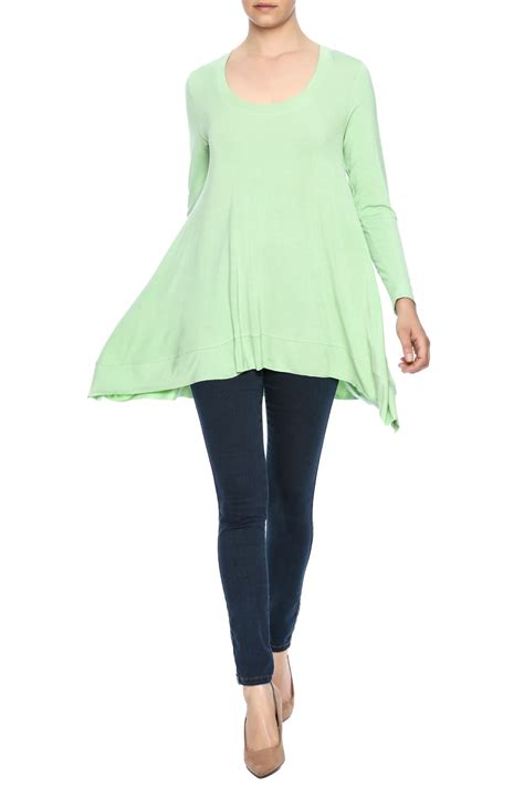 Litegreen Green Shopping Directory by Miss Finch Light Green Tunic Top From Connecticut By A S