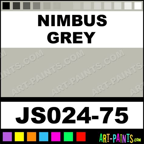 nimbus grey artists colors acrylic paints js024 75 nimbus grey paint nimbus grey color jo