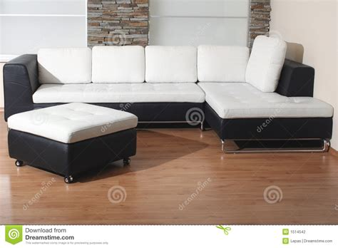 black and white recliner black and white furniture stock photography image 1514542