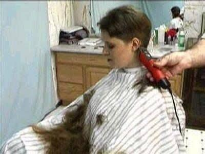 female in barber chair getting buzzcut 778 best images about hair on the cape floor on pinterest