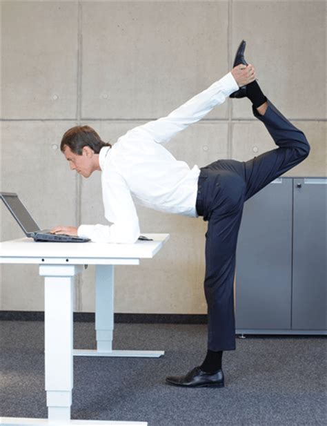 How To Stay Fit At Work Covered Mag Presented By Of Manliness Standing Desk