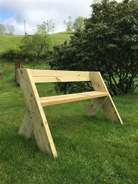 build outdoor bench with back leopold bench 2x8 legs 2x10 seat 2x6 backrest 48