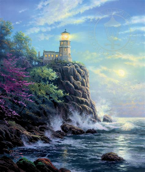 Split Rock Lighthouse Cabins by Lighthouses Seascapes Central Coast Showcase Galleries