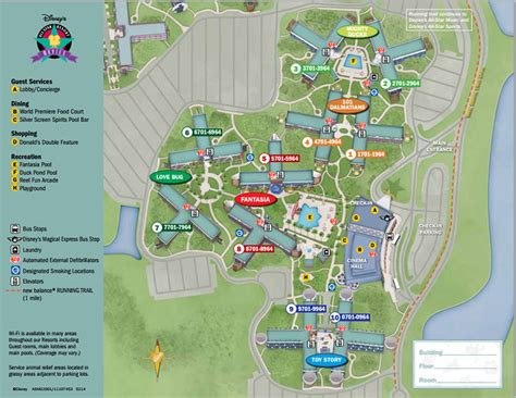 all resort map preferred rooms disney s all s resort in depth walt disney world made easy for everyone