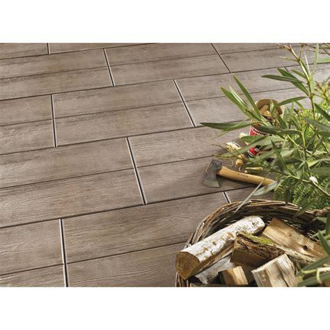 terrasse 80 x 40 terrassenplatte beton holzdiele dunkelbraun beschichtet 60