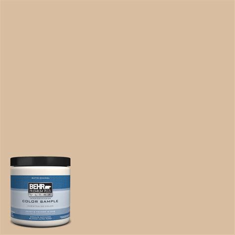 behr premium plus ultra 8 oz ppu4 14 renoir bisque