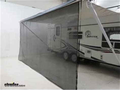 rv awning track valterra awning drape w solar powered rope light and dual