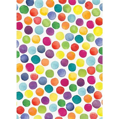 pattern gift paper watercolor dots wrapping paper paper source orrr get