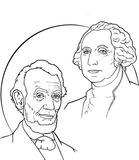 presidents day coloring pages printable stuff to color