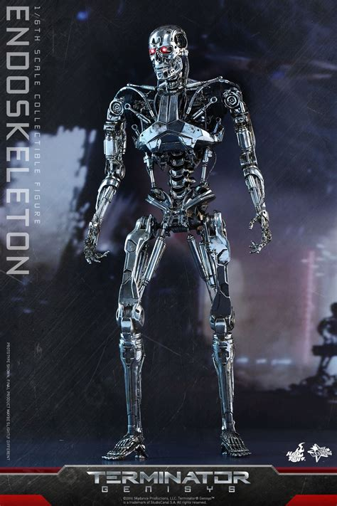 t 800 figure terminator genisys t 800 endoskeleton by toys the