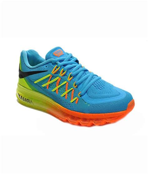 sport shoes 2015 nike air max 2015 blue mesh textile running sport shoes