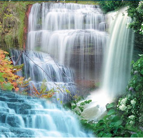 beautiful waterfalls with flowers pin by anna vp on waterfalls mother natures moods pinterest