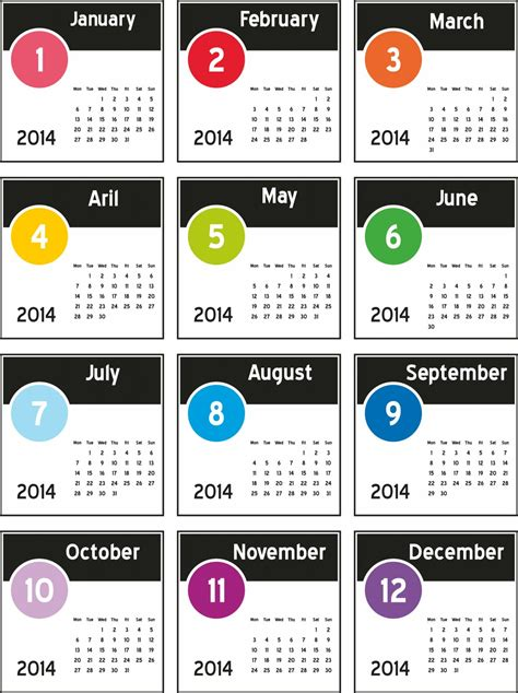 new design calendar 2014 free new 2014 calendar designs large size images elsoar