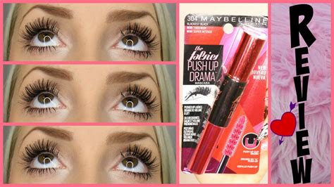 Maybelline Push Up Drama maybelline push up drama mascara impressions