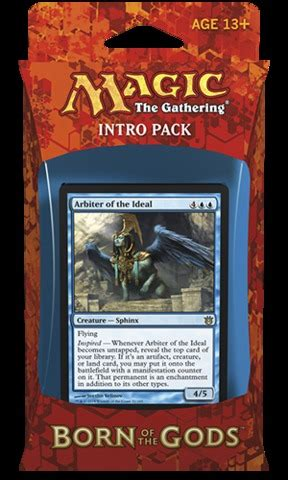 Intro Pack Born Of The Gods born of the gods intro pack inspiration struck magic products 187 intro starter theme decks