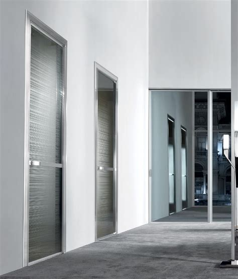 modern glass doors modern interior doors spaces modern with glass door